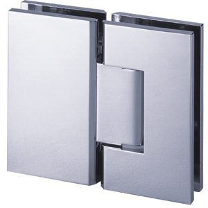 180° Glass-to-Glass Hinge - Square Compact