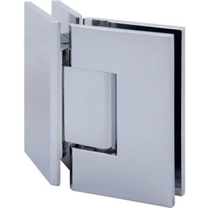 135° Glass-to-Glass Hinge - Square Compact Series