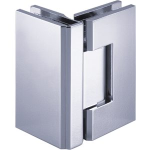 90° Glass-to-Glass Hinge - Square Compact