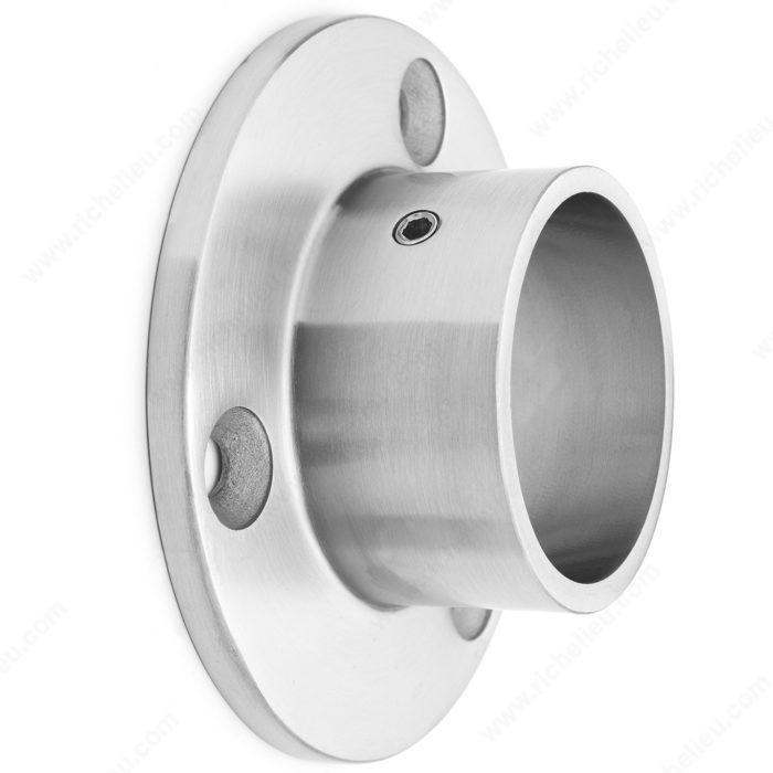 New Round Tubing Wall Mount Flange - Richelieu Hardware