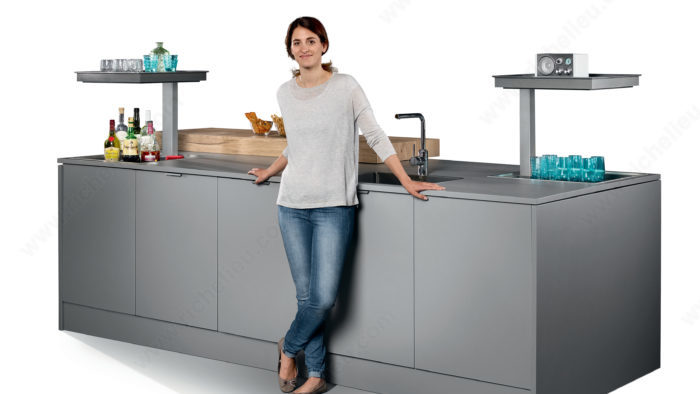 Kitchen Island Application