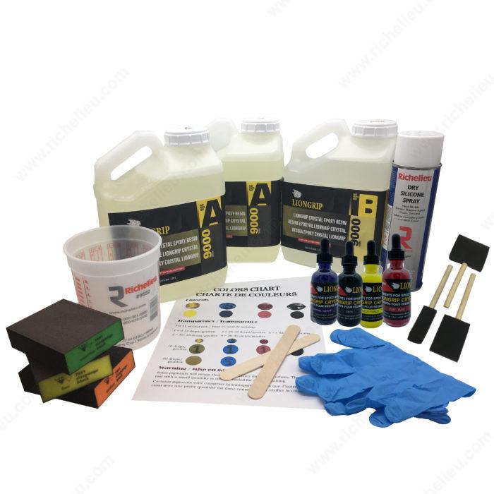 Liongrip Crystal Epoxy Resin Starter Kit - Richelieu Hardware