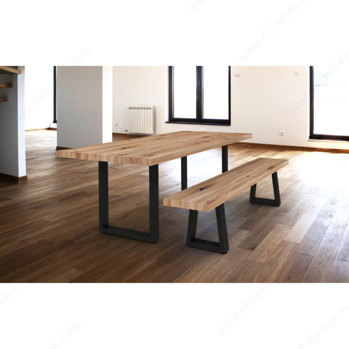 Stupendous Tapered Bench Legs Richelieu Hardware Andrewgaddart Wooden Chair Designs For Living Room Andrewgaddartcom
