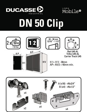 Instructions DN 50 Clip