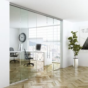 Terno Solo Vetro 80 Sliding Glass Door System
