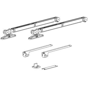 Terno Step Hardware Set with Two Soft-Close Units