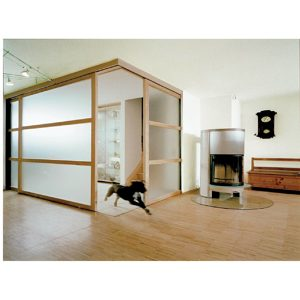 EKU-Divido 80 H Straight Sliding Door System