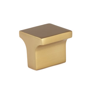 Contemporary Metal Knob - 3125