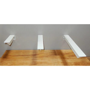 Floating and Hidden Shelf Brackets 9 in