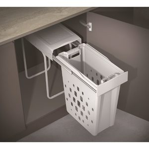 Compact Pullout Laundry Basket