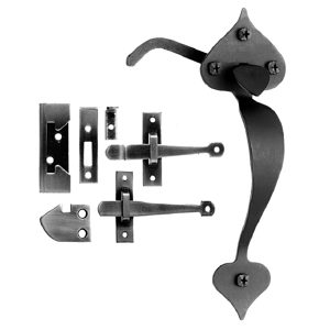 Traditional Forged Iron Latch - 0928