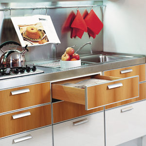 FUTURA Slide with Soft-Close for Frameless Cabinet - Full Extension Concealed Undermount