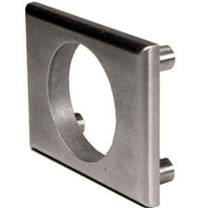 Exterior Through-Bolt Mounting Plates