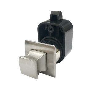 Square Push Knob with Latch