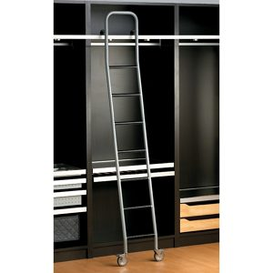 Steel Rolling Ladder for Cabinets