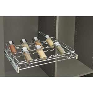 Sliding Rack for Spices and Cans