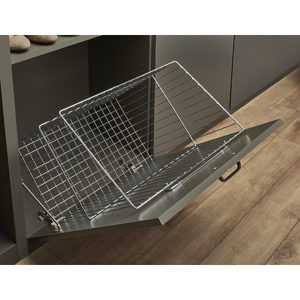 Tilt-Out Hamper for Closet