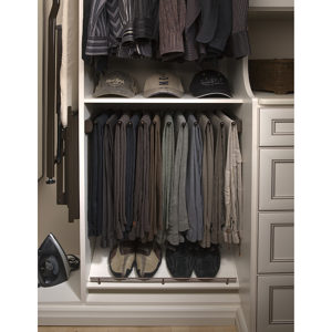 Sliding Pant Rack with Soft-Close Mechanism