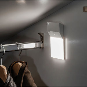 LED Battery Light with Integrated Motion Sensor