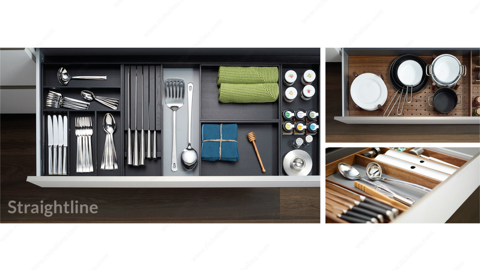 Drawer organization systems
