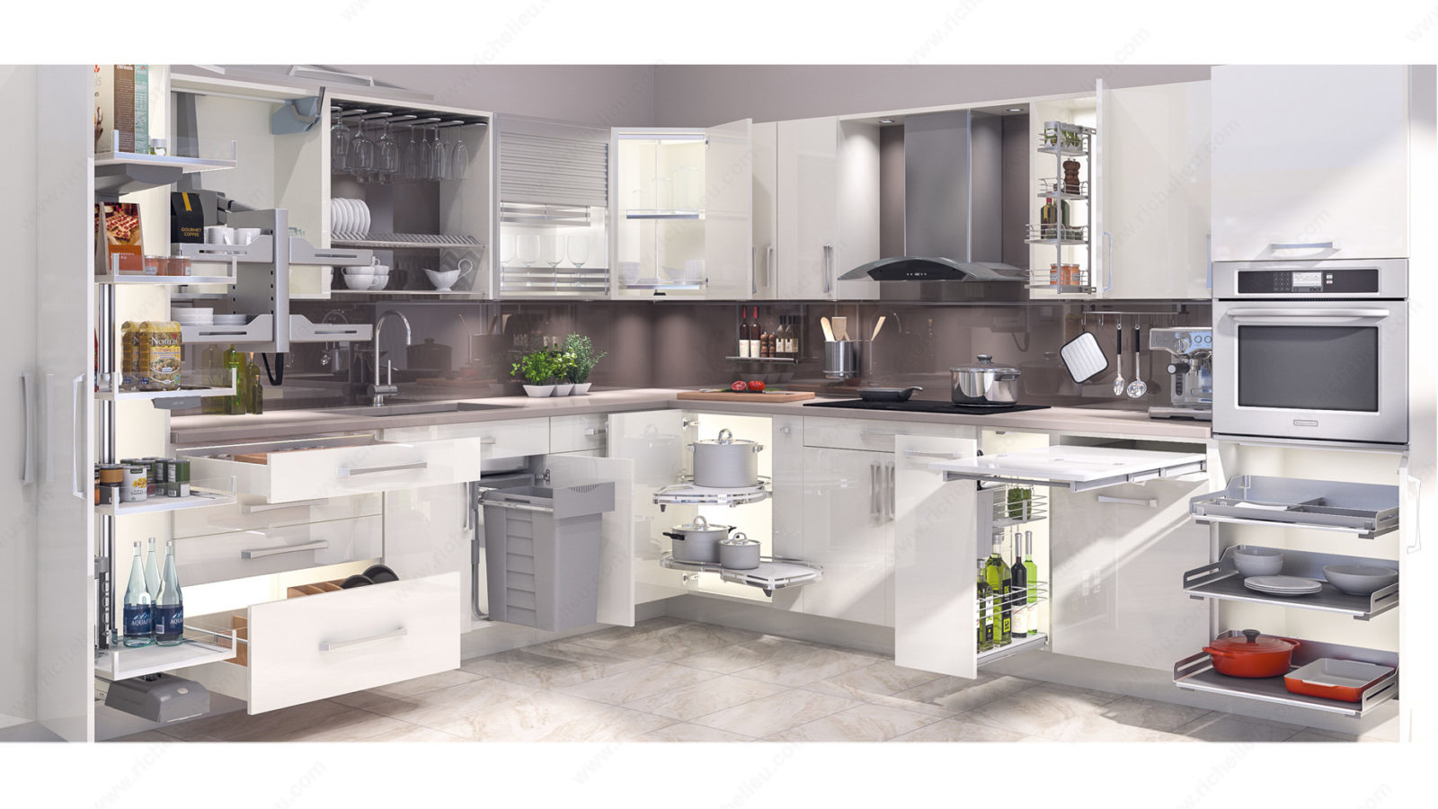 Smart living kitchen