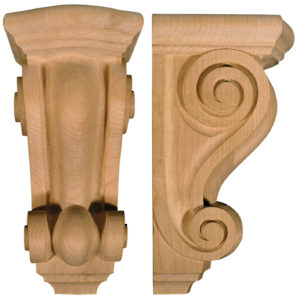Mission and Shaker Corbel - MS18