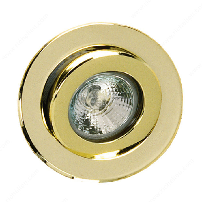 20W or 50W Recessed Halogen with Swivel-1