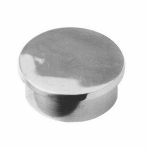 Stainless Steel Standard Glue-In Flat End Cap
