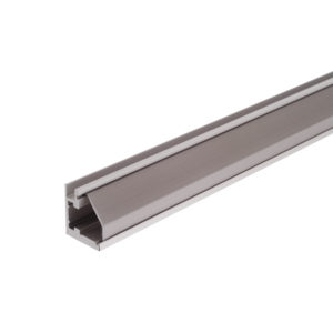 Silver Glass Molding - 3/4""