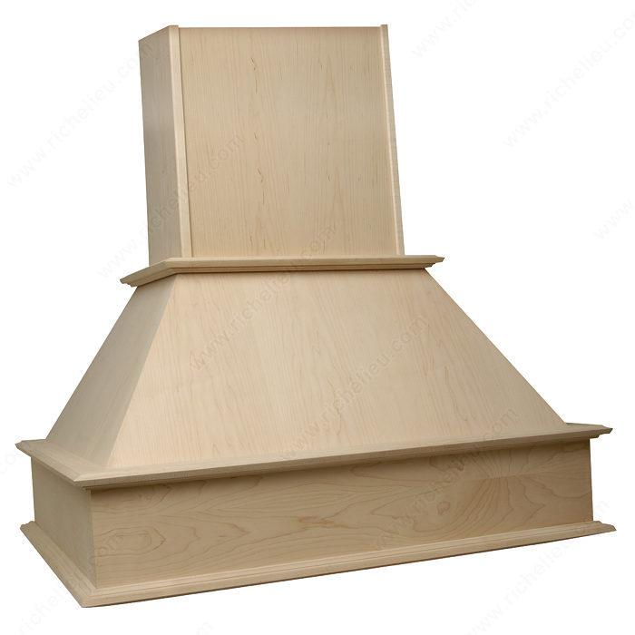 hotte en bois s rie signature quincaillerie richelieu. Black Bedroom Furniture Sets. Home Design Ideas