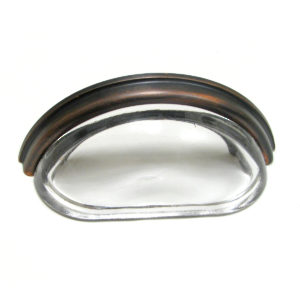 Clear / Brushed Oil-Rubbed Bronze