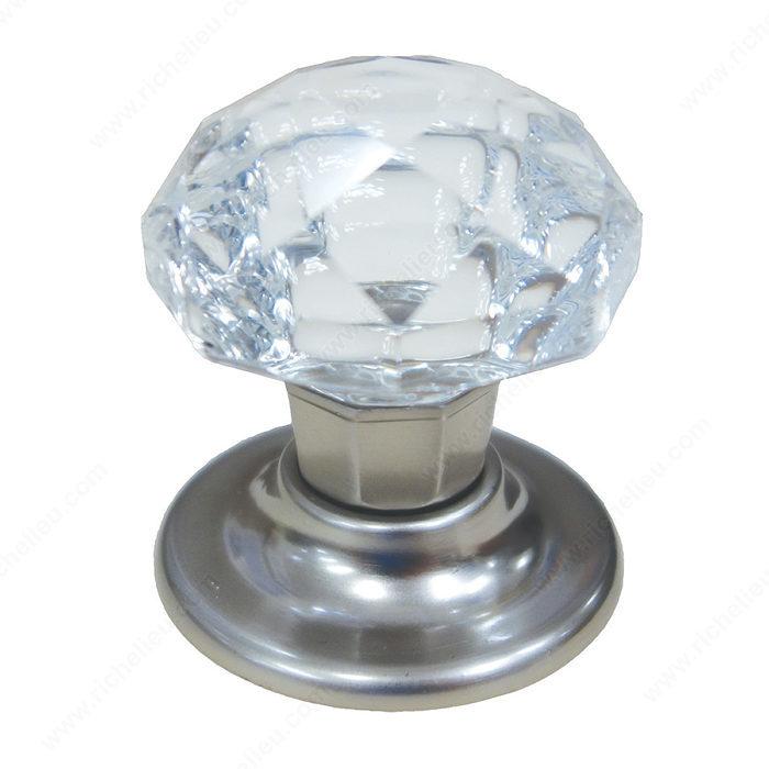 Eclectic Crystal Knob 1009 Richelieu Hardware