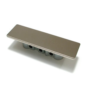 Contemporary Recessed Metal Pull - 1026