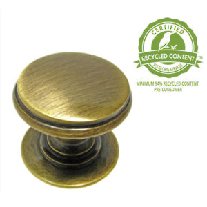 Traditional Brass Knob - 1255