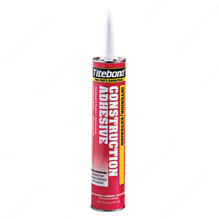 titebond interior exterior adhesive multi purpose richelieu hardware