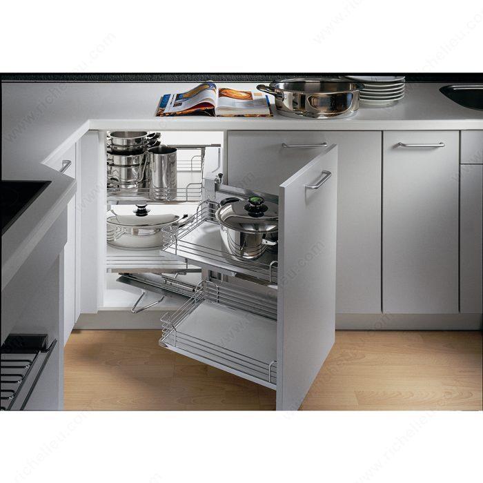 Kitchen Cabinet System: Frame For Magic Corner