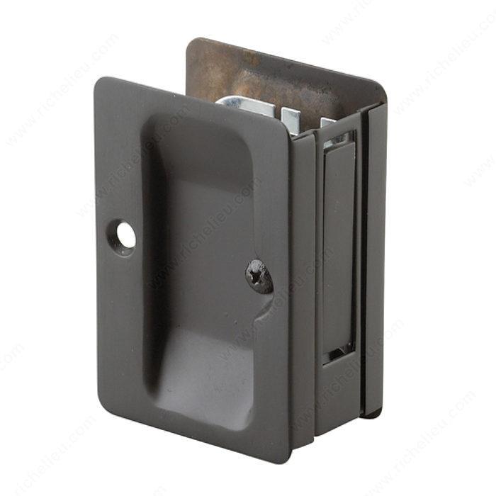 Door Handle Types >> Pocket Door Pull - Rectangular - Richelieu Hardware