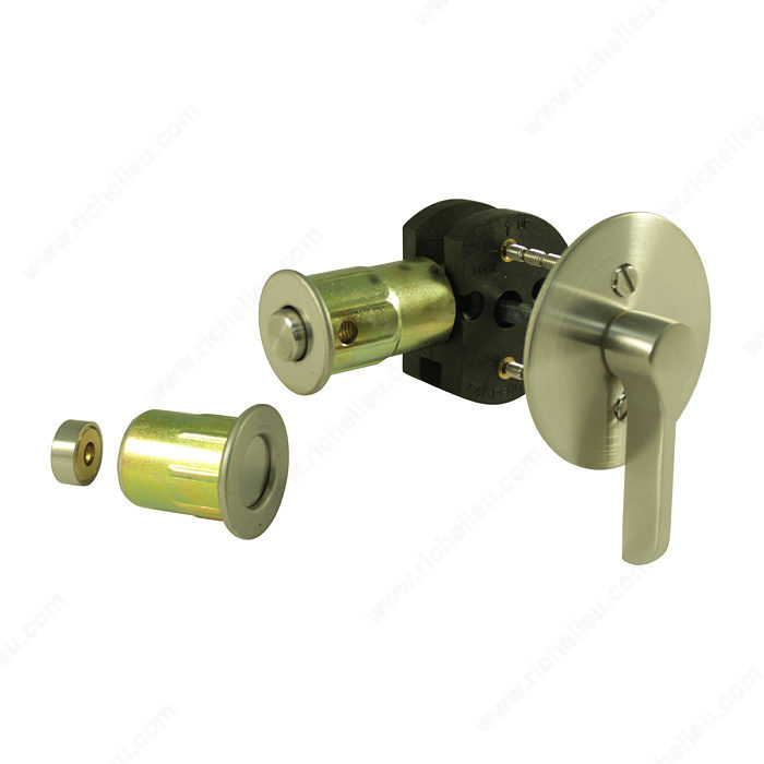 Inox Tm Privacy Lock For Sliding Barn Door 1217 Series