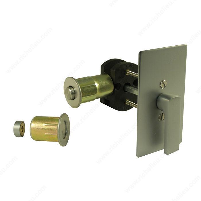 Inox Tm Privacy Lock For Sliding Barn Door 1515 Series