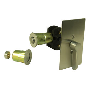 INOX(TM) Privacy Lock for Sliding Barn Door - 1517 Series