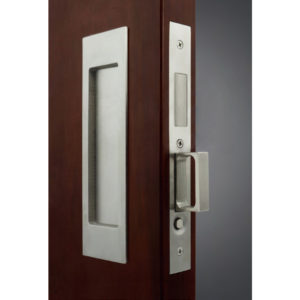 INOX(TM) PD8000 Mortise Lock Set for Sliding Doors