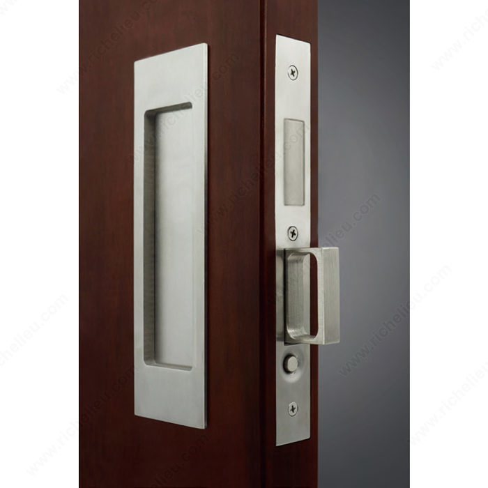 Inox Tm Pd8000 Mortise Lock Set For Sliding Doors