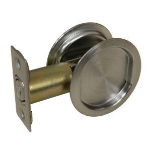Flush Pull Handles x 2 Satin Steel 120mm Sliding Door Recessed Slide Pulls 5091