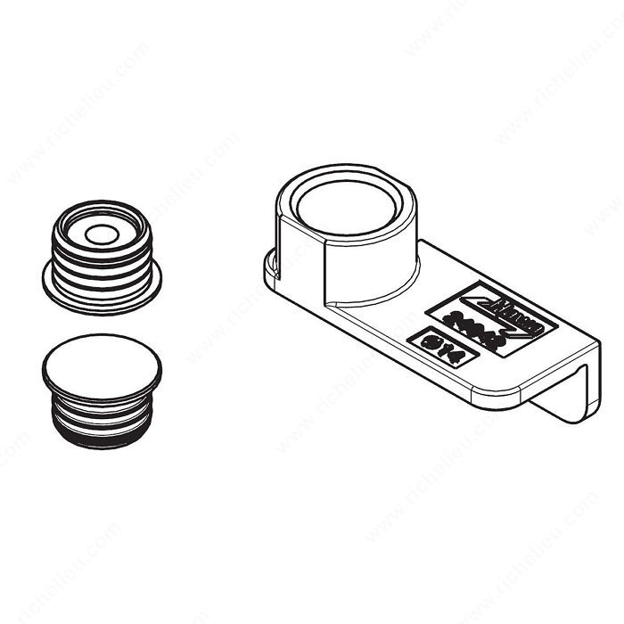 magnetic centering pieces