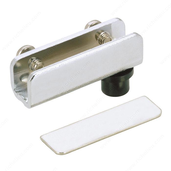 Glass Cabinet Door Hinge : Pivot hinge for glass door recessed within furniture or