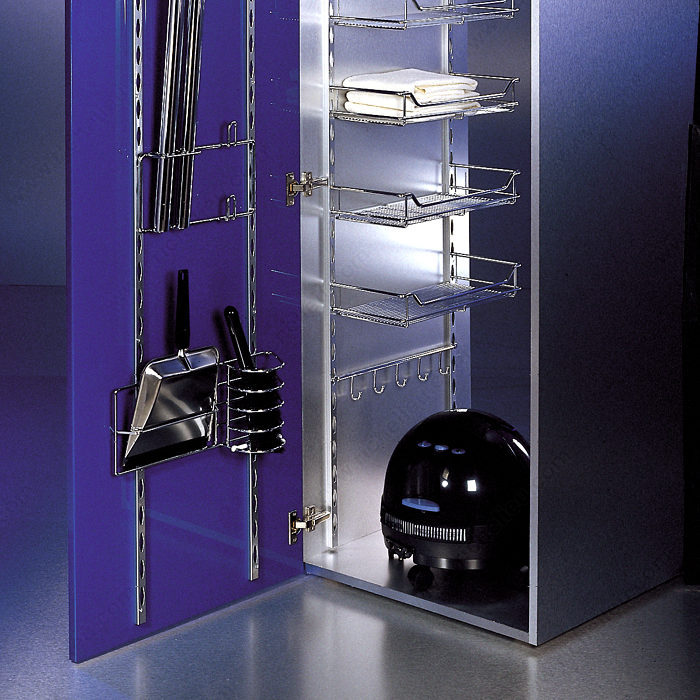 Clip on basket richelieu hardware for 200mm wide kitchen wall unit