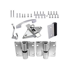Surface Hinge Hardware Kit for Outswing Door