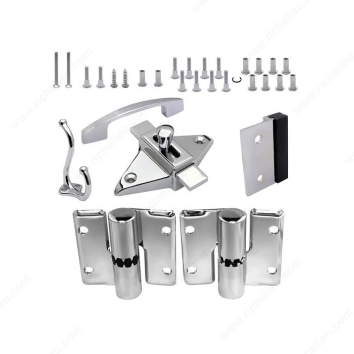 Surface Hinge Hardware Kit For Outswing Door Richelieu Hardware