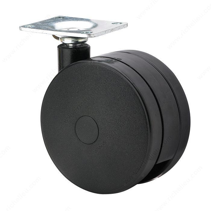 roulette de meuble quincaillerie richelieu. Black Bedroom Furniture Sets. Home Design Ideas