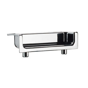 Contemporary Mortise Edge Pull  - 2101